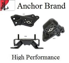 3 PCS Motor & Transmission Mount For 2002-2003 Dodge Ram 1500 5.7L 4WD
