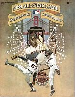 1984 All-Star Game Baseball Program, Willie McCovey, Mays San Francisco Giants