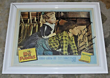 Susan Gordon The Boy and Pirates Original Signed Autographed Lobby Card UNFRAMED