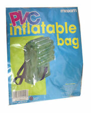 PVC Inflatable Bag Rucksack Ideal Gift Party Bag Festival Retro 70 S Clear