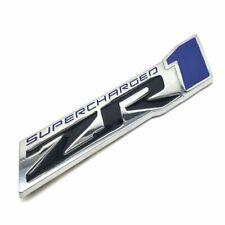 1x 3D Metal ZR1 Supercharged Emblem Badge for 2009-2013 Corvette C6 Chevrolet