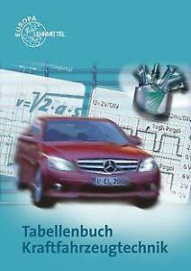 Tabellenbuch Kraftfahrzeugtechnik: Tabellen, Form... | Buch | Zustand akzeptabel