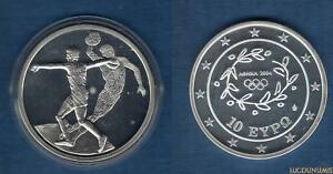 Grèce 2003 10 Euro Lancement du Disque Jeux Olympiques été Athénes 2004 - Greece
