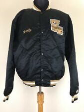 Vintage New Orleans Saints Throwback Satin Starter Jacket L Nice!