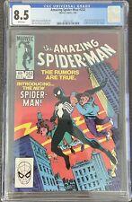 Amazing Spider-Man #252 CGC 8.5 1984 Black Costume