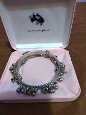 Silver Bangle Bracelet Collection Camrose & Kross Audrey Hepburn