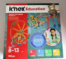 """K'nex Education """"Gonzo For Gears""""  Building Set 198 Piece ages 8-11 made in usa"""