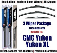 3-Pack Wipers Front/Rear NeoForm 2000+ GMC Yukon, XL1500, XL2500 - 16220x2/30160