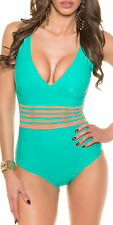 SHEER ADDICTION One Piece Swimwear Swimsuit Bathing Suit - XS/S/M/L/XL