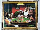 Coolidge Collection Dogs Playing Poker A Bold Bluff Mini Poster