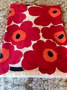 Marimekko Curtain Red Unikko Poppy