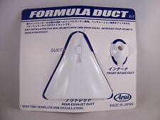 Arai Helmets Quantum/e Vent Set Formula Duct Front and Rear Vent White Quantum e