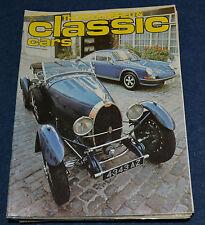 Thoroughbred & Classic Cars January 1980 Pegaso, Alvis, Bugatti, Monza