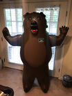 Vintage Moosehead Beer Canadian 5ft Bear Bar Plastic Promo Are At Camp F67
