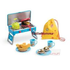 New American Girl Doll's Camp Treats Set~Grill/Stove~Play Food~Camping Accessory