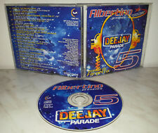 CD DEEJAY PARADE 5 - ALBERTINO - MIX by FARGETTA - AUTOGRAFO + BIGLIETTO DISCO 9