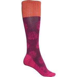 Sockwell Womens M/L Lotus Lift Moderate Graduated Compression Socks Azalea