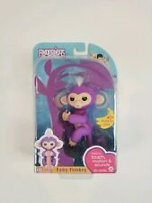 Electronic Interactive Fingerling Happy Monkey Finger Motion Pet Hot Toy -Purple
