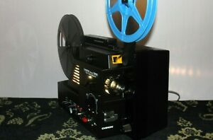 Chinon SOUND 7800 - Twin Track Magnetic Movie Projector & Extra Bulb ~ SERVICED~