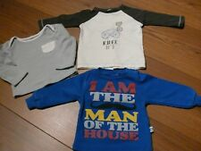 VERTBAUDET*NAZAR*3x LA Shirt Baby Jungen,Gr. 56,62*Paket,Langarmshirt,Set,Jungs