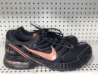 Nike Air Max Torch 4 Womens Athletic Running Shoes Size 12 Black Rose Gold
