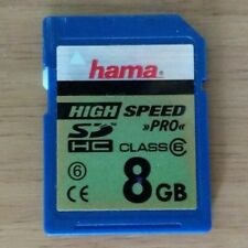 Hama 8GB SDHC High Speed Memory Card