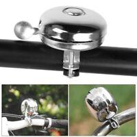 Classic Retro Metal Ring Bike Bicycle Cycling Handlebar Bell Sound Alarm Silver