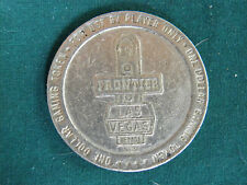 Frontier Hotel Casino  One Dollar $1.00 Gaming Token 1988 Las Vegas Nevada-EB78