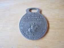 Paul Revere Life Insurance Co. Worcester MASS. Token Health Accident Life