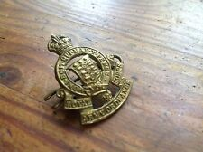 ORIGINAL BRITISH ROYAL ORDANANCE SERVICE CORPS HAT BADGE 1914-1918