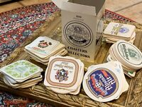 BEER COASTERS FOR COLLECTORS THE WALT WEST GERMANY VINTAGE NEW IN BOX MAN CAVE