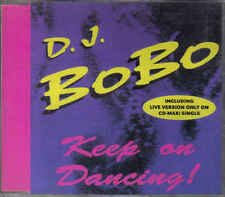 DJ Bobo- Keep on Dancing cdm