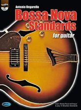 Bossa Nova Standards For Guitar Learn to Play Latin TAB Music Book & CD
