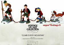 Dept. 56 Climb Every Mountain Retired 2001 Alpine Village 56138 New in Box