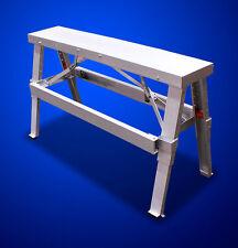 "New MTN Aluminum Heavy Duty Drywall Walk-Up Adjustable Folding Bench-18""-44"""