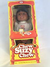 Ideal Doll Chew Suzy Chew African American Baby Original Box NRFB 1980