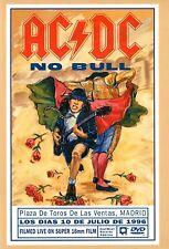 "AC/DC - NO BULL DVD (LIVE 1996) ""PLAZA DE TOROS DE LAS VENTAS"" MADRID / SPANIEN"