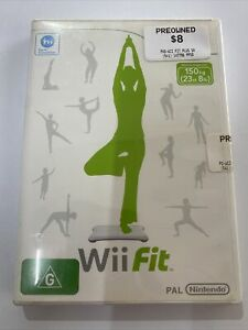 Wii Fit - Nintendo WII Game - Fast Sale - Case + Disc - Pal - Exergaming - 2008