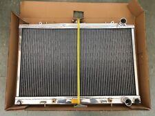 NISSAN SKYLINE R32 89-93 AMT POLISHED ALLOY RADIATOR 40MM 2 ROW READ DESC