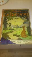 Choix de Fables de La Fontaine - Librairie Garnier Frères - 1926 (rare)