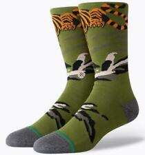 Stance 1 Pair Sock Big Cat Crew orange/green Infiknit - size L