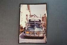 Vintage Glossy Kodachrome Color Photo 1946 1947 1948 Chrysler Car 912023