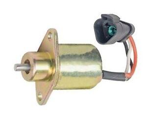 Caterpillar Fuel Shutoff Stop Solenoid 1727209 216 226 228 232 236 Skid Steer
