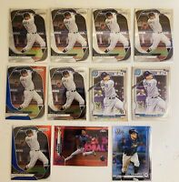 2020 TOPPS CHROME TAMPA BAY RAYS LOT WILLY ADAMES PANINI PRIZM BOWMAN GYPSY