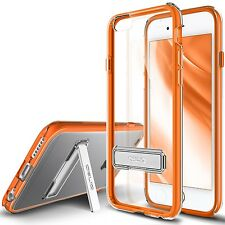 iPhone 6 6s 6 Plus Clear Hard Case OBLIQ Naked Shield Metal Kickstand All Skin MINT iPhone 6