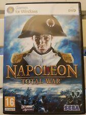 PC dvd games NAPOLEON TOTAL WAR SEGA 2 DVD COMPLETO WINDOWS VISTA/XP/7 ITALIANO