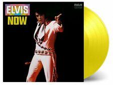 Elvis Presley: Elvis Now Reissued 180g Yellow Coloured Vinyl LP Record
