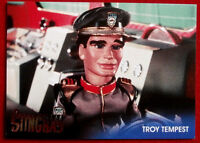 STINGRAY - Foil Chase Card #F4 - TROY TEMPEST - GERRY ANDERSON COLLECTION 2017