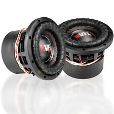 """2 Pack American Bass 8"""" Competition Subwoofers Dual 4 Ohm 1200W Max Sub VFL-8D4"""