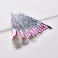 10pcs Kabuki Makeup Brushes Set Foundation Blush Powder Lip Cosmetics Brush Tool